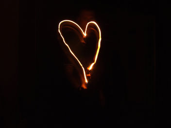 Burning heart - image #307605 gratis