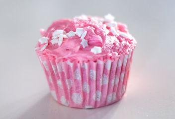 Pink Vanilla Cupcake - Free image #308775