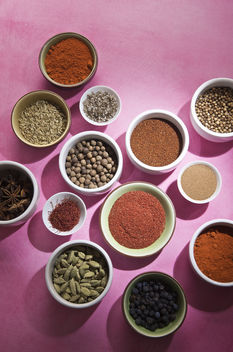 Spices on Pink - image #309245 gratis
