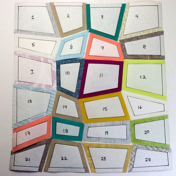 Quadrilateral Quilt Pieces - Free image #310105