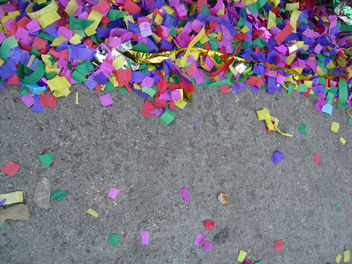 Confetti on the Street - Free image #311105