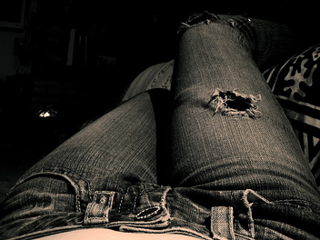 Ripped Jeans - image gratuit #311215