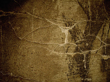 cracked wall sepia - Free image #312365