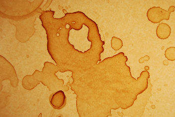 Coffee Stains Texture 08 - Free image #313135