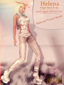 [LeeZu!] Helena Highheel Pants - Kostenloses image #315575
