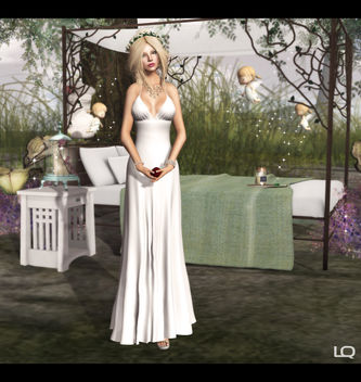 Baiastice_Arya Dress & Alouette - Forest Canopy Bed - image #315695 gratis
