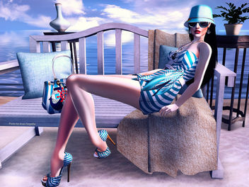 New Sailing Dress by GizzA - бесплатный image #316505