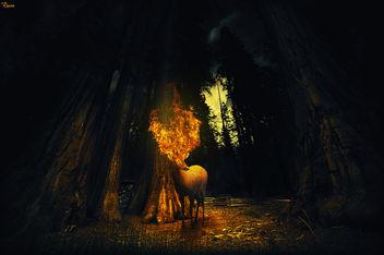 Mystic deer - image #317755 gratis