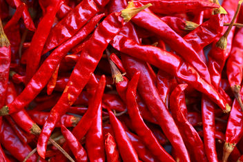 En Masse Dried Spicy Red Peppers - Free image #318445