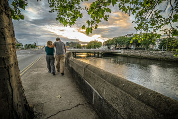 The romantic couple, Dublin, Ireland - бесплатный image #318525
