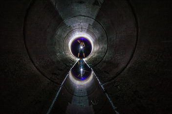 Dark Tunnel - image gratuit #320195