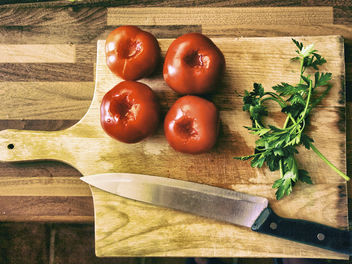 four tomatoes - Free image #321385