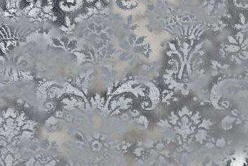 Wall flower #2 - blue baroque - Free image #322165