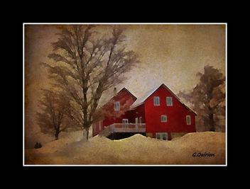 La maison rouge - Kostenloses image #322705