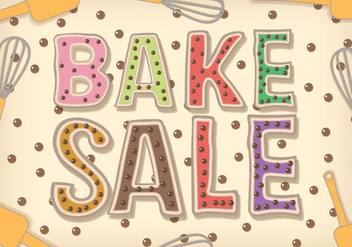 Bake Sale Vector - бесплатный vector #327475