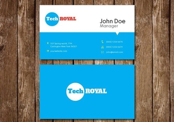 Creative Visiting Card - vector #327935 gratis