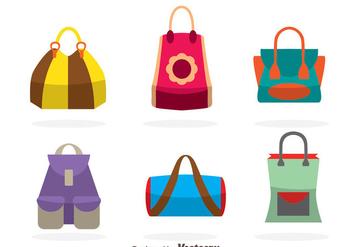 Bags Vectors - Kostenloses vector #328235