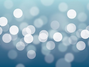White Bokeh Blue Background - Free vector #328355
