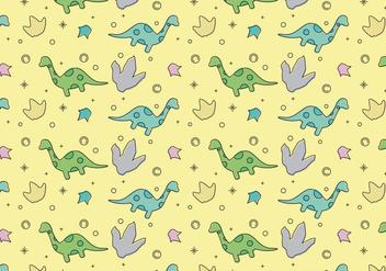 Free Dinosaur Pattern #4 - Free vector #328665