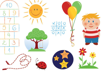 Free Children Vectors - Free vector #328735