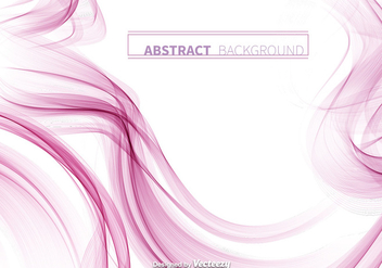 Abstract Pink Smoke Vector Background - vector #328795 gratis
