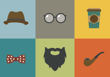 Vector Old Style Stuff - Free vector #328885