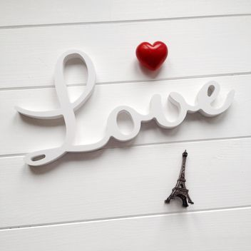Word Love and red heart - image #329085 gratis