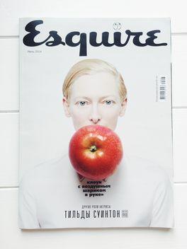 #smart #Breakfast #Esq #Tilda #Swinton #Apple #iphoneography - Free image #329155