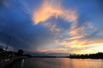 Sunset in Odessa (Ukraine) - Free image #329985