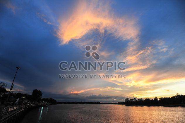 Закат солнца в Одессе (Украина) - бесплатный image #329985