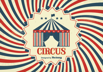 Vintage Circus Poster - Free vector #330075