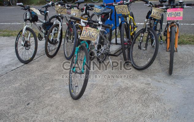 Parking for bicycles - Free image #330335