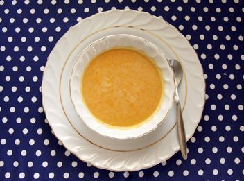 Bowl of Pumpkin Soup - Free image #330445
