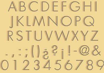 30s Type - Free vector #330475