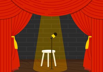 Comedy Club - Kostenloses vector #330525