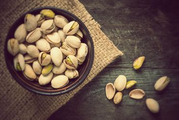Pistachios in a bowl - Free image #330685