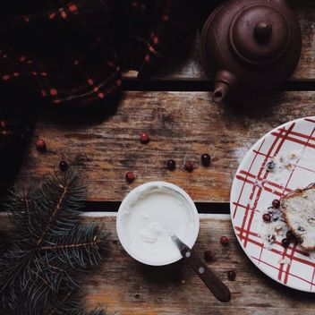 christmas cake - image #330735 gratis