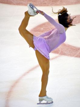 Ice skating dancer - Free image #330985