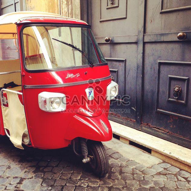 Red Ape Calessino motor vehicle - image gratuit #331085
