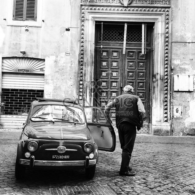 Old Fiat 500 car - Free image #331095