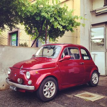 Old Fiat 500 car - Free image #331145