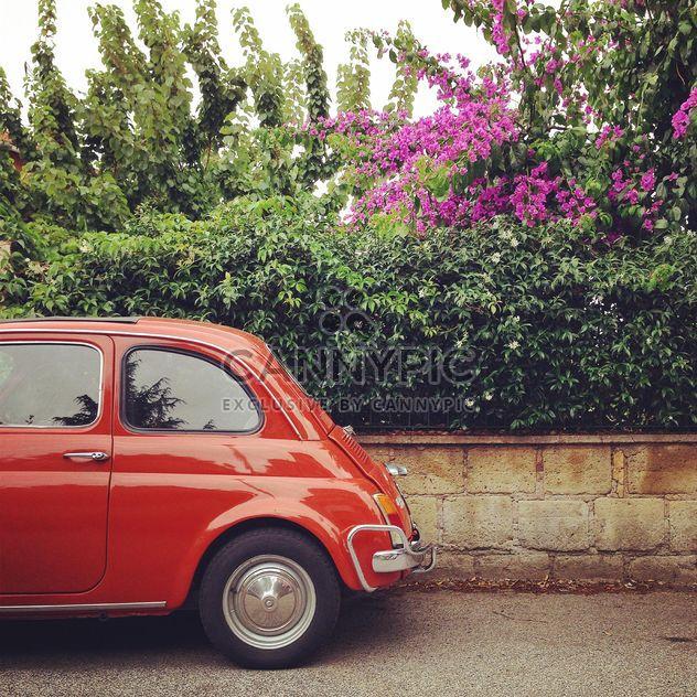 Carro vermelho Fiat 500 - Free image #331225