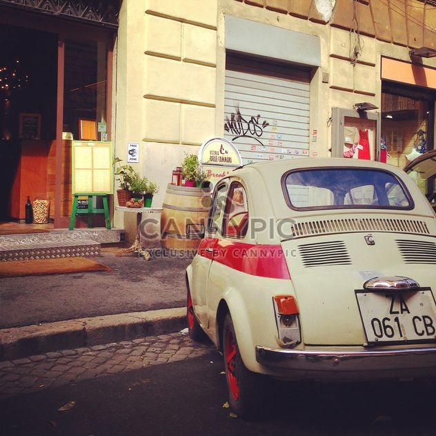 Old Fiat 500 car - Free image #331245