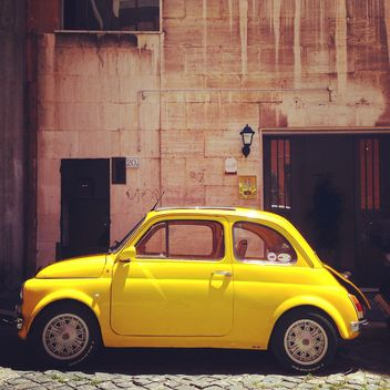 Retro Fiat 500 car - image #331275 gratis