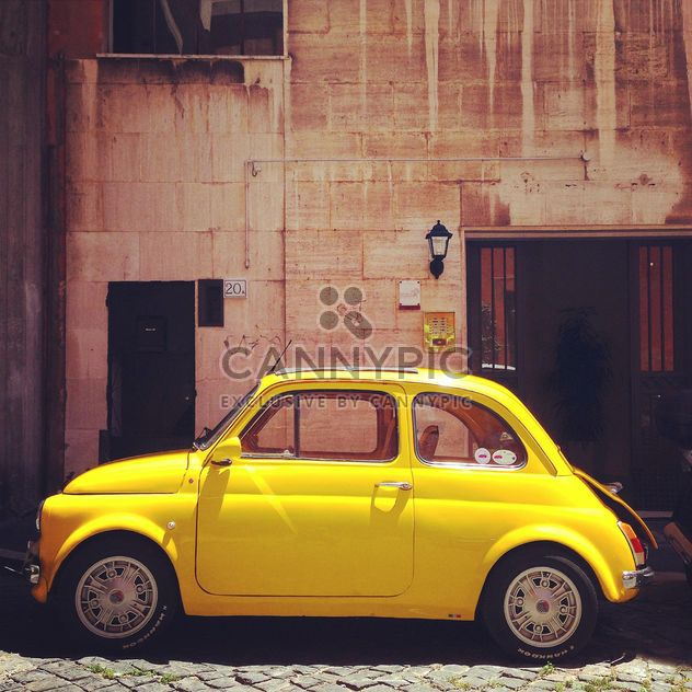 Retro Fiat 500 car - Free image #331275