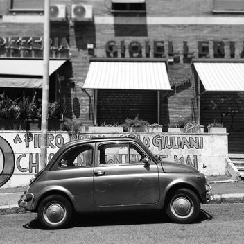 Old Fiat 500 car - image #331335 gratis