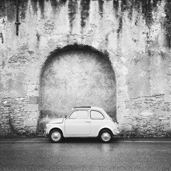 Old Fiat 500 Roma car - image #331385 gratis