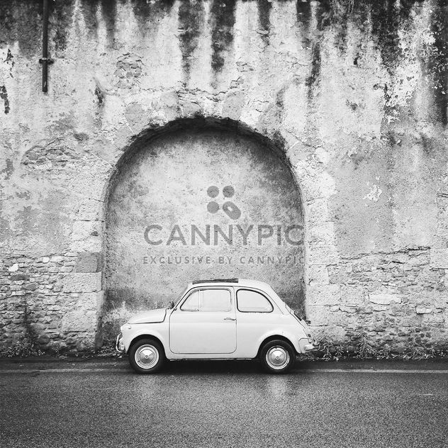 Old Fiat 500 Roma car - Free image #331385