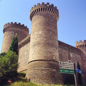 Tivoli Castle, Italy - бесплатный image #331565