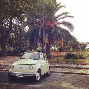 Old Fiat 500 Car - image #331575 gratis